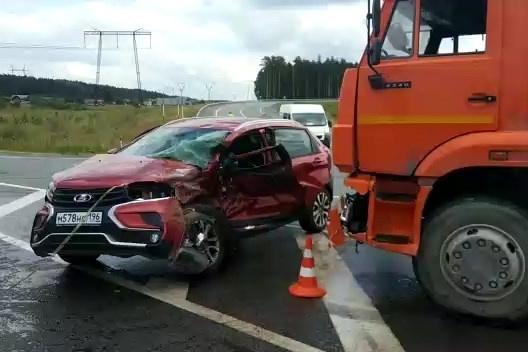 Сильнее всех пострадал водитель Lada