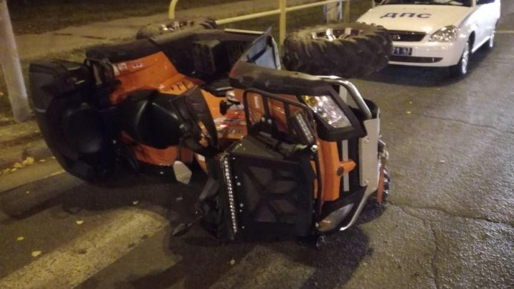 В Самарской области водитель квадроцикла сбил пешехода