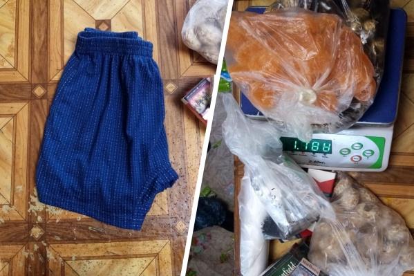 Наркотик растворили и пропитали им одежду