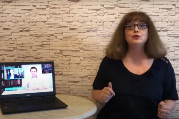 Татьяна Гартман борется с безграмотностью на ТВ