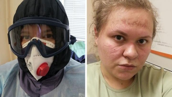«Хотела всё бросить и уехать»: студентка — о месячной вахте в тюменском госпитале для пациентов с COVID-19