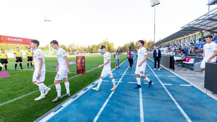 «Чайка» проиграла московскому «Торпедо»