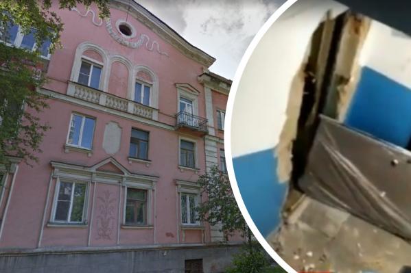 ЧП произошло на улице Сталеваров — ударной волной вышибло дверь квартиры