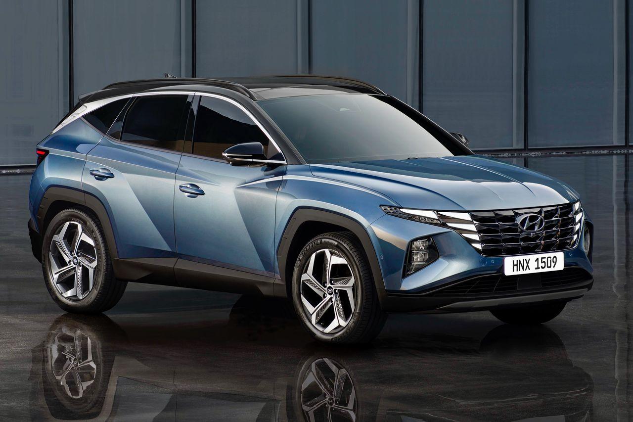 Hyundai Tucson получился не таким экстремальным, как предшествовавший ему концепт, но по меркам Hyundai выглядит весьма дерзко