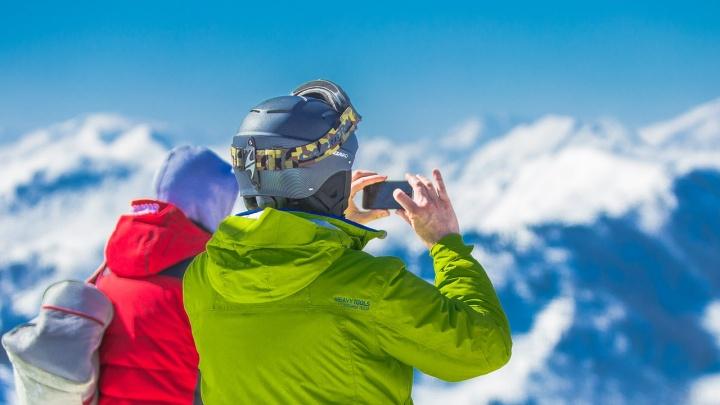 На горнолыжном курорте Сочи МегаФон улучшил связь специально к новогодним праздникам