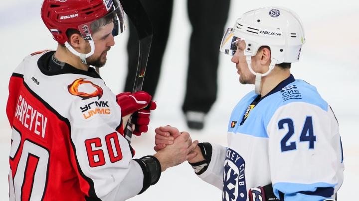 «Автомобилист» в последнем домашнем матче регулярки впервые в сезоне переиграл «Сибирь»