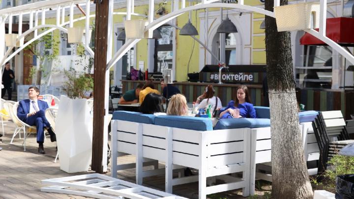 Где в Ярославле посидеть на летней веранде: обзор 33 кафе