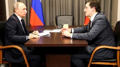 Никитин пригласил Путина на 800-летие Нижнего Новгорода: онлайн-трансляция визита президента
