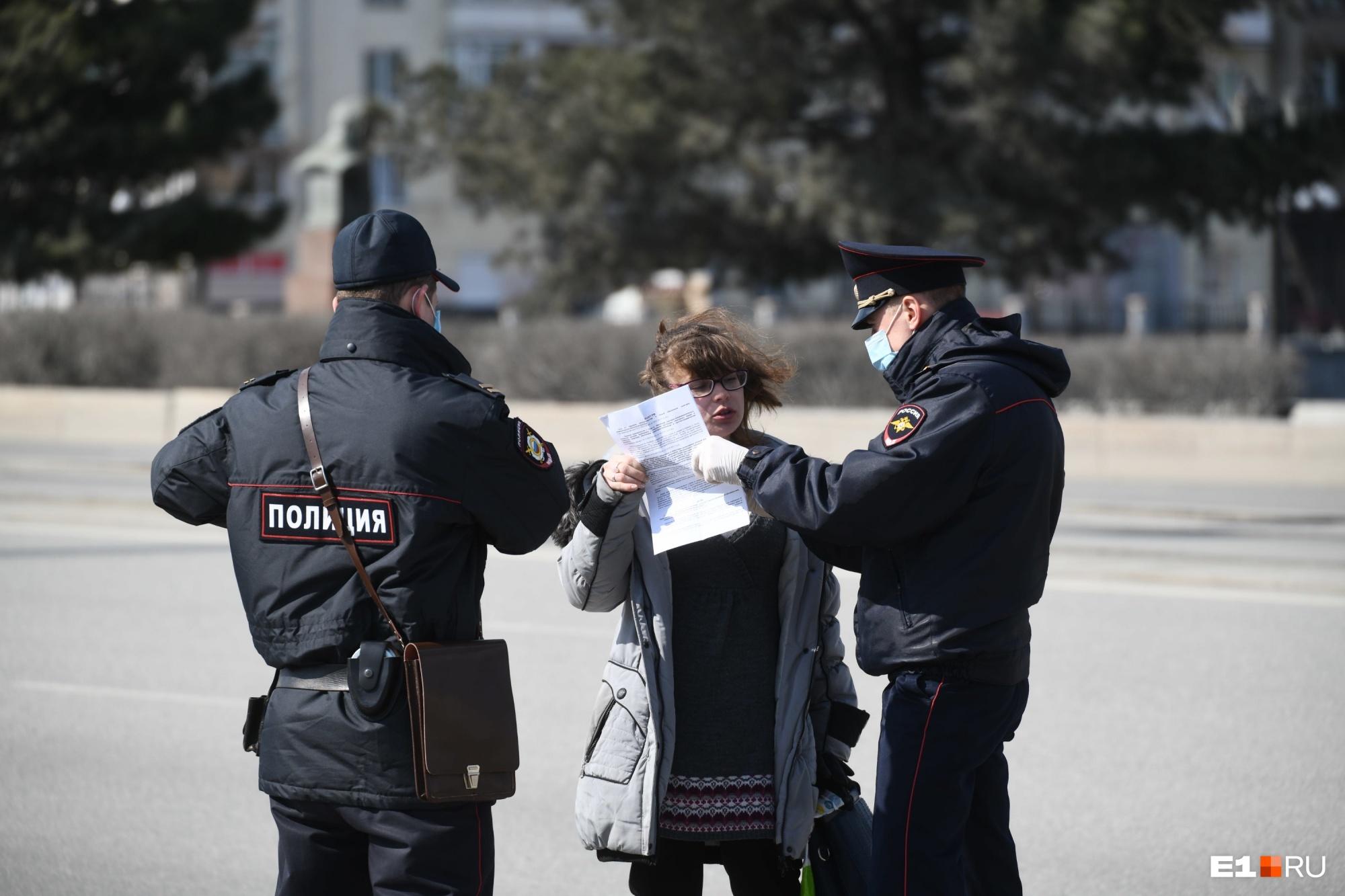 Эти полицейские настоящие, но с фальшивыми стражами порядка горожане уже сталкивались