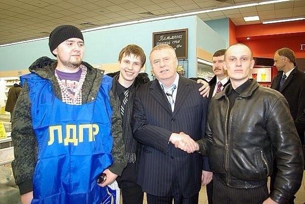 Всеволод Могучев и Владимир Жириновский