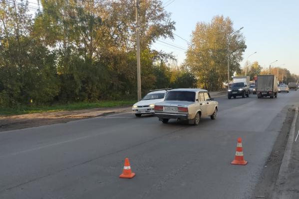 Сотрудники ГИБДД ищут водителя «Газели»