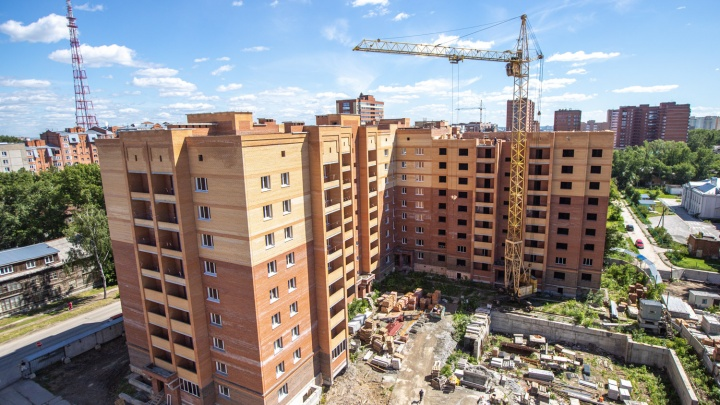 В семи минутах от площади Маркса строят кирпичный дом со стенами в 90 сантиметров