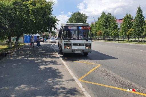 В Кургане из-за пандемии COVID-19 сократился пассажиропоток, что привело к снижению количества автобусов