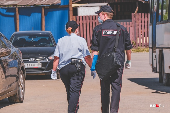 Полицейские задержали пермяка, решив, что он нарушил указ губернатора о режиме самоизоляции