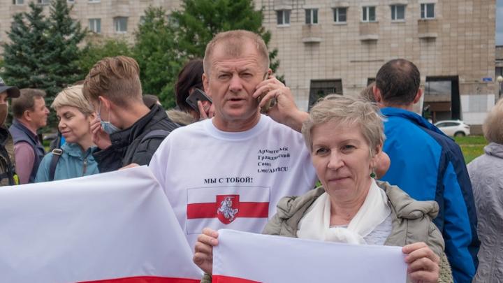 Архангельского активиста второй раз задержали за поддержку Белоруссии и Хабаровска