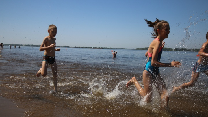 В МЧС рассказали, на каких пляжах Самарской области можно отдыхать
