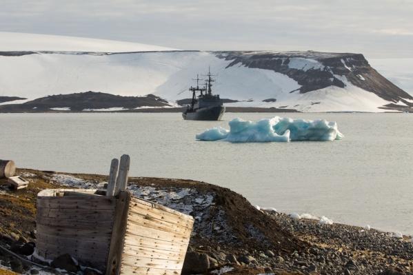 Северный флот организовал экспедицию совместно с Русским географическим обществом