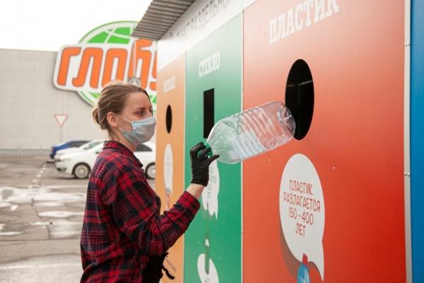Ярославцы сортируют вторсырье на четыре фракции: пластик, стекло, бумага, картон