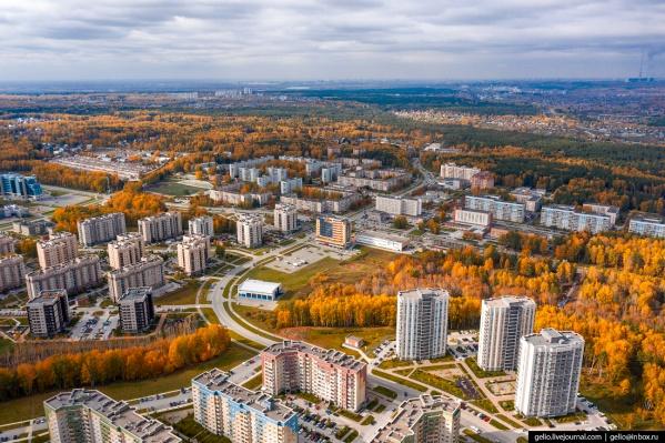 Посёлок Кольцово располагается в 25 км от центра Новосибирска и имеет статус наукограда