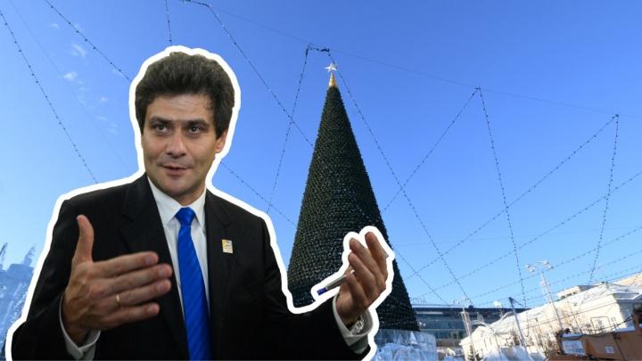 Про Новый год и обыски в Кировском районе: традиционный прямой эфир с мэром на E1.RU