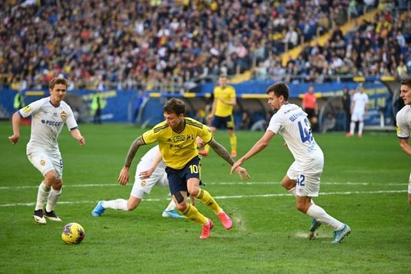 Мамаев забил в первой же игре за «Ростов»