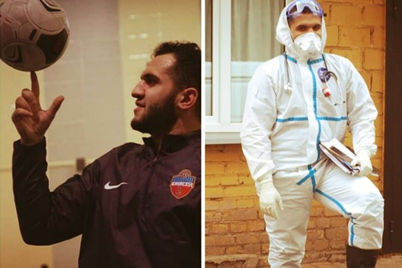 Массажиста из ФК «Енисей» уволили из-за его работы в «красной зоне»