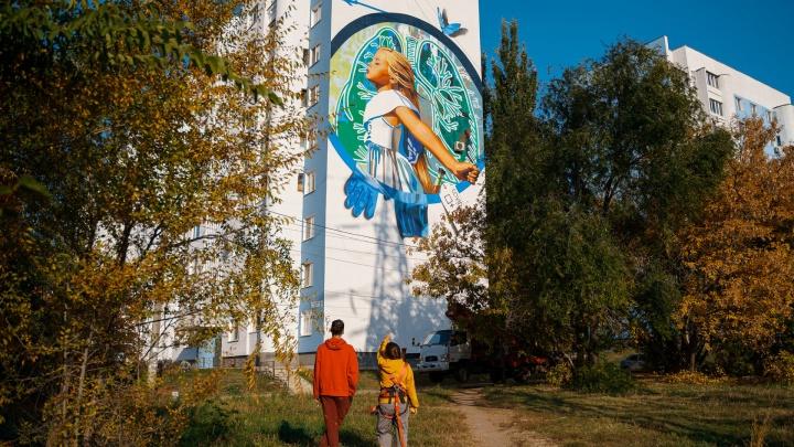 Мир после COVID: самарский мурал попал на конкурс граффити в ПФО
