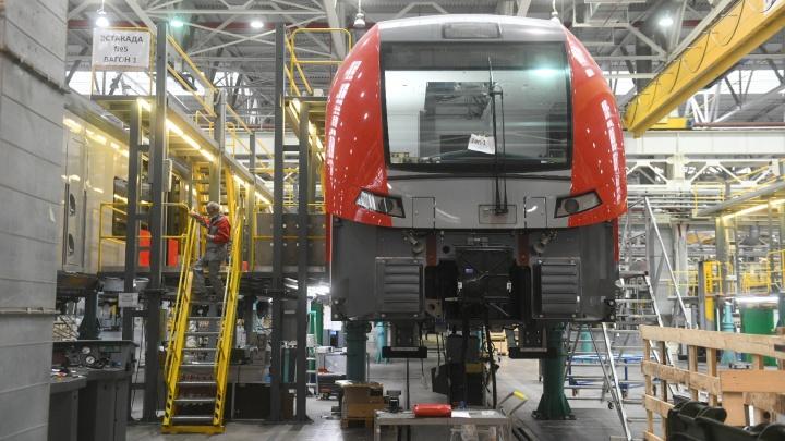 На заводе под Екатеринбургом начнут выпускать поезда, которые будут разгоняться до 360 километров в час