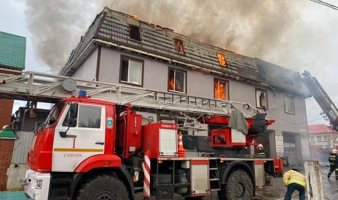 В Самаре задержали подозреваемого в причастности к пожару, где сгорели 4 человека