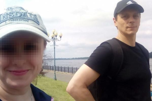 «С любимым мужчиной» — так подписала Валентина эту фотографию