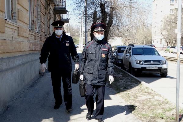 Полиция настоятельно не советует нарушать режим самоизоляции