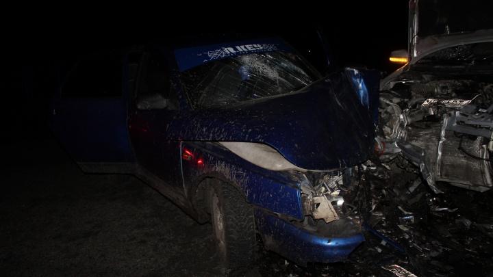 В Кургане 15-летний водитель ВАЗа устроил аварию с пятью пострадавшими