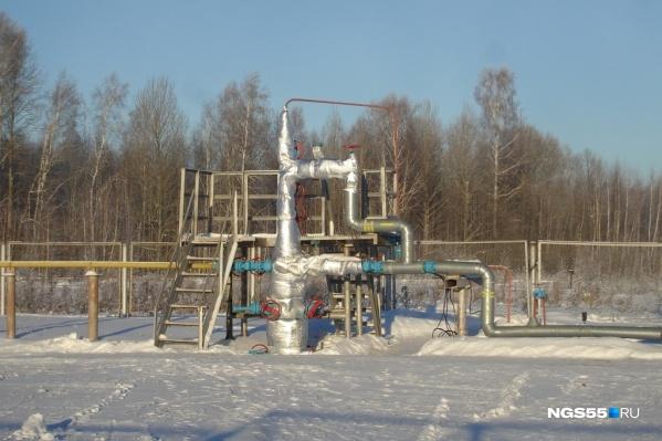 Зимой из трех скважин на Тевризском газоконденсатном месторождении работает всего одна