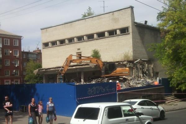 Ремонт кинотеатра начали в 2012 году