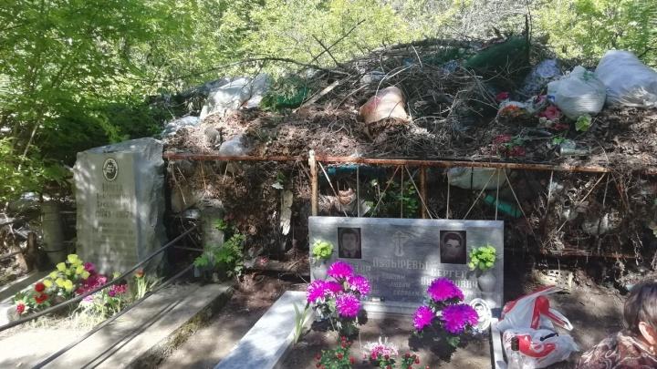 В Кургане кладбища превращены в мусорные свалки
