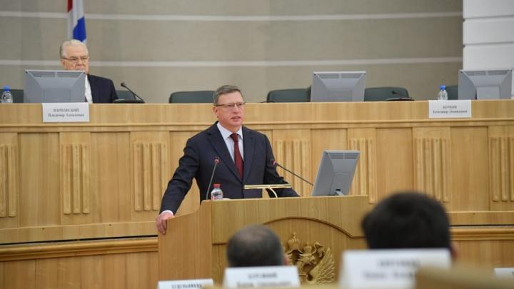 «Главное — инвестиции в людей»: Александр Бурков рассказал о положении дел в Омской области