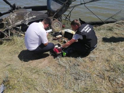СК: пилот разбившегося на Дону вертолета самовольно поднял Ми-2 в небо