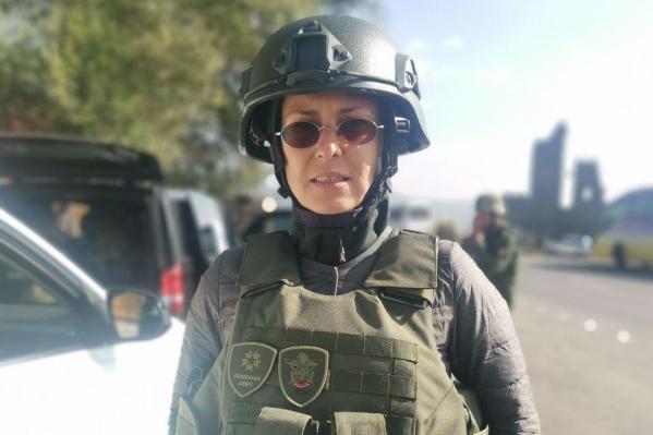 Вчера Юлия прилетела в Ереван, сегодня она уже в Степанакерте (Нагорный Карабах)
