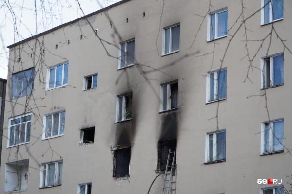 Взрыв произошел в квартире на третьем этаже