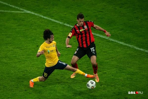 «Ростов» был фаворитом встречи, но не смог сыграть даже вничью