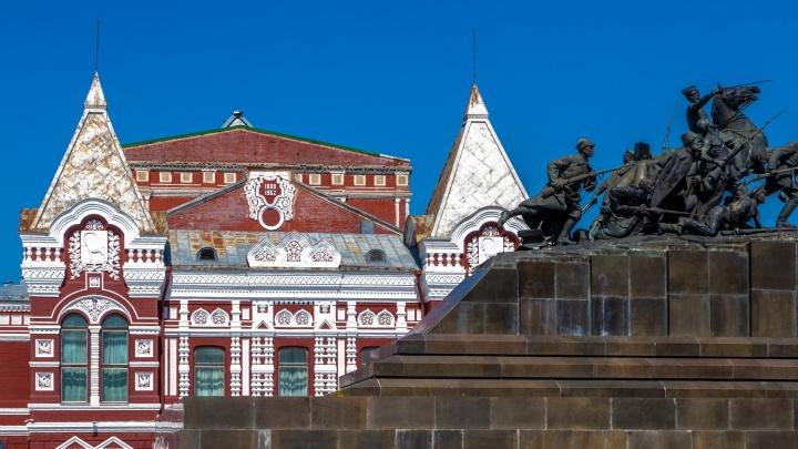 Появились новые эскизы реставрации Драмтеатра в Самаре