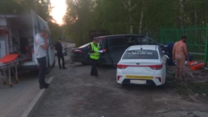 «Признался, что выпил пива»: в Дзержинском районе таксист сбил женщину