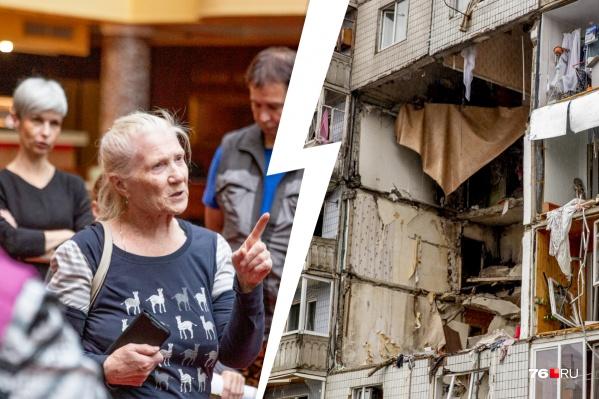 Жильцы взорвавшегося дома выйдут на Советскую площадь