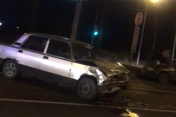 10-летнего ребенка увезли в больницу после ДТП на Московском проспекте