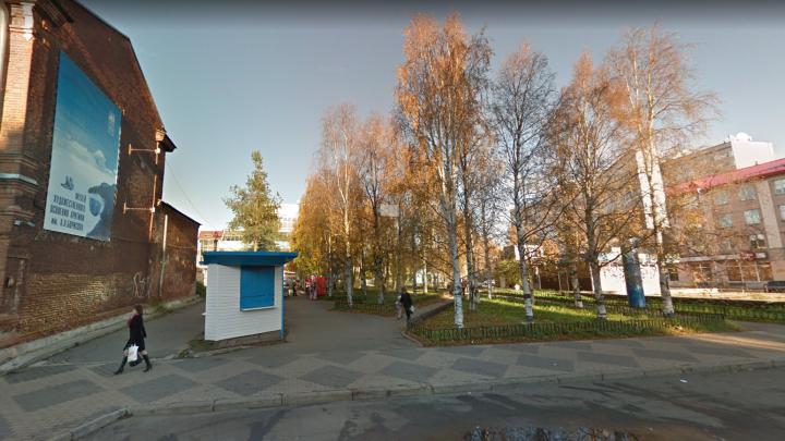 Сквер на Поморской частично отдадут под здание фондохранилища. Что известно о проекте