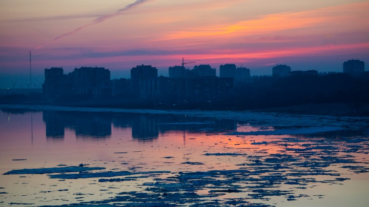 Ледоход в Омской области начнётся в первых числах апреля