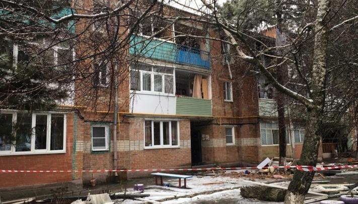 В Азове дом, где произошел взрыв газа, отремонтируют к ноябрю