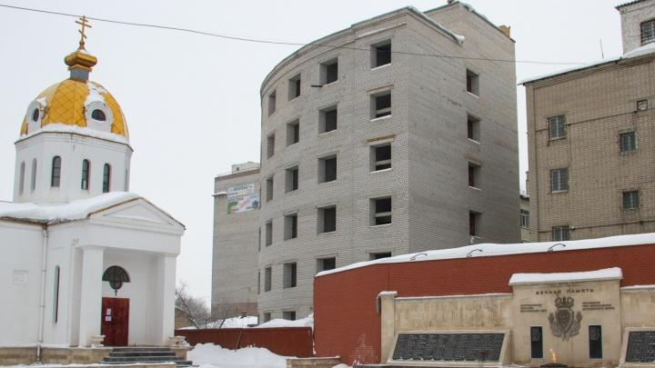 В Самаре посчитали, сколько нужно денег на достройку здания УФСИН на месте сгоревшего ГУВД