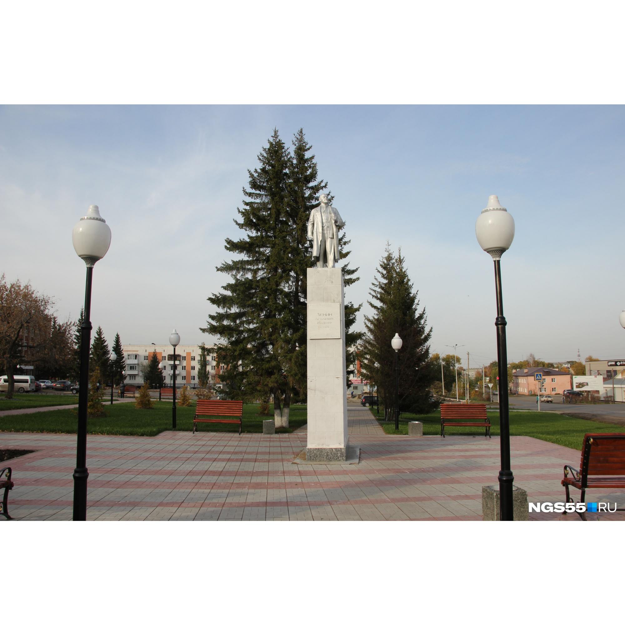 Памятник Ленину вызывал споры