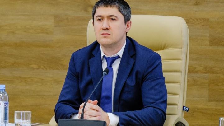 Публикуем проект указа Дмитрия Махонина, запрещающего выходить из дома